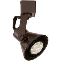 WAC Lighting LTK-103LED-DB TK-103 Miniature 1 Light 120V Dark Bronze L Track Fixture Ceiling Light