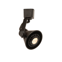 WAC Lighting J Series Line Voltage Track Head With LED Gu10 Bulb Included in Black JTK-103LED-BK