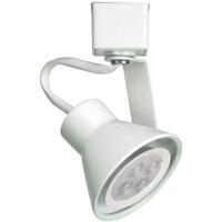 WAC Lighting JTK-103LED-WT TK-103 Miniature 1 Light 120V White J Track Fixture Ceiling Light