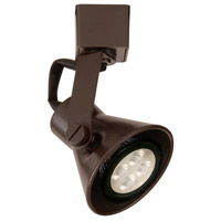 WAC Lighting JTK-103LED-DB TK-103 Miniature 1 Light 120V Dark Bronze J Track Fixture Ceiling Light