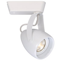 WAC Lighting H-LED820F-27-WT 120v Track System 1 Light White LEDme Directional Ceiling Light in 2700K, 40 Degrees, H Track
