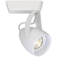 WAC Lighting J-LED820F-27-WT 120v Track System 1 Light White LEDme Directional Ceiling Light in 2700K 40 Degrees J Track