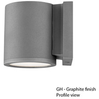 WAC Lighting WS-W2605-GH Outdoor Lighting 5 inch Graphite Outdoor Wall Mount photo thumbnail