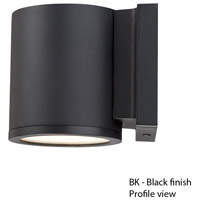 WAC Lighting WS-W2605-BK Outdoor Lighting 5 inch Black Outdoor Wall Mount