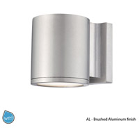 Outdoor Lighting 5 inch Brushed Aluminum Outdoor Wall Mount