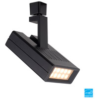 WAC Lighting L-LED25S-27-BK 120V Track System 10 Light 120V Black LEDme Directional Ceiling Light in 2700K, 20 Degrees, L Track