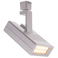 WAC Lighting L-LED25F-27-WT 120V Track System 10 Light 120V White LEDme Directional Ceiling Light in 2700K, 42 Degrees, L Track
