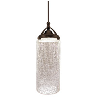 WAC Lighting MP-LED499-CR/DB Madison 4 inch Dark Bronze Pendant Ceiling Light in 0