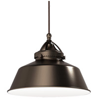 WAC Lighting MP-LED483-AB/DB Early Electric 9 inch Dark Bronze Pendant Ceiling Light in Antique Bronze, Canopy Mount MP