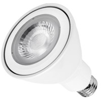 WAC Lighting PAR30LED-L14N30-WT Light Bulbs LED LED PAR20 Med 14.6 watt 120V 3000K LED Bulb in PAR30, White