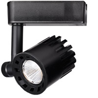 WAC Lighting H-LED20F-27-BK 120V Track System 1 Light 120V Black LEDme Directional Ceiling Light in 2700K, 85, 40 Degrees, H Track