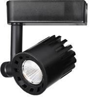 WAC Lighting H-LED20F-40-BK 120v Track System 1 Light 120V Black LEDme Directional Ceiling Light in 4000K 85 40 Degrees H Track