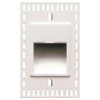 WAC Lighting WL-LED200TR-C-WT Outdoor Lighting 3.3 watt White Step Light in 3000K LED 2.00 inch