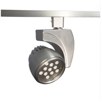 WAC Lighting L-LED27F-27-BN 120v Track System 1 Light Brushed Nickel LEDme Directional Ceiling Light in 2700K 45 Degrees L Track