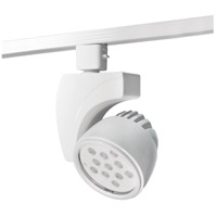 WAC Lighting 120v Track System 1 Light White LEDme Directional Ceiling Light in 3000K 45 Degrees L Track