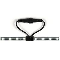 WAC Lighting 8101-30BK Landscape LED 10 foot Black Strip Light Ceiling Light