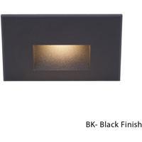 WAC Lighting Outdoor Lighting 3.9 watt Black Step Light in 3000K 277 1 LED 16.62 inch