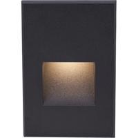 WAC Lighting WL-LED200F-C-BK Outdoor Lighting 3.9 watt Black Step Light in 3000K 277 1 LED 50.62 inch