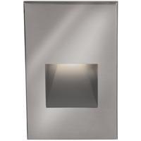 WAC Lighting WL-LED200F-C-SS Outdoor Lighting 3.9 watt Satinless Steel Step Light in 3000K 277 1 Stainless Steel LED 53.62 inch
