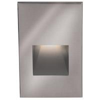 WAC Lighting WL-LED200-RD-SS Outdoor Lighting 3.9 watt Satinless Steel Step Light in Red 120 1 Stainless Steel LED 63.62 inch