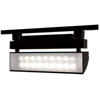 WAC Lighting L-LED42W-40-BK 120v Track System 1 Light Black LEDme Directional Ceiling Light in 4000K, L Track