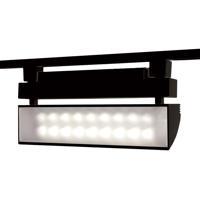 WAC Lighting L-LED42W-40-BK 120v Track System 1 Light Black LEDme Directional Ceiling Light in 4000K L Track