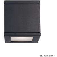 WAC Lighting WS-W2504-BK Outdoor Lighting LED 5 inch Black Outdoor Wall Mount