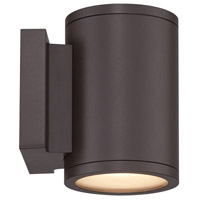 WAC Lighting WS-W2604-BZ Tube LED 7 inch Bronze Double Side Outdoor Wall Mount