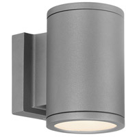 WAC Lighting WS-W2604-GH Tube LED 7 inch Graphite Double Side Outdoor Wall Mount