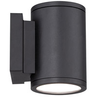 WAC Lighting WS-W2604-BK Tube LED 7 inch Black Double Side Outdoor Wall Mount