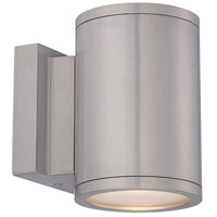 WAC Lighting WS-W2604-AL Tube LED 7 inch Brushed Aluminum Double Side Outdoor Wall Mount