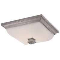 WAC Lighting dwelLED Bristol LED Flush Mount in Antique Nickel FM-7113-AN