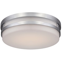 Vie LED 14 inch Chrome Flush Mount Ceiling Light
