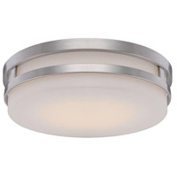 Vie LED 14 inch Brushed Nickel Flush Mount Ceiling Light