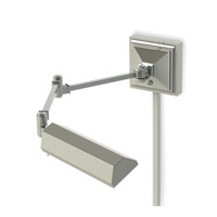 Hemmingway 5 inch 6.5 watt Polished Nickel Swing Arm Wall Light