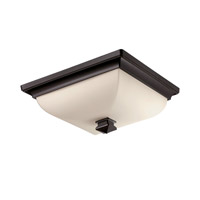 Bristol LED 13 inch Brushed Bronze Flush Mount Ceiling Light