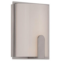 WAC Lighting dwelLED Stella LED Wall Sconce in Brushed Nickel WS-13208-BN
