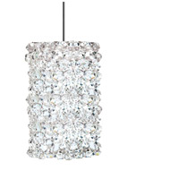WAC Lighting MP-LED939-WD/CH Eternity Jewelry LED 3 inch Chrome Pendant Ceiling Light in White Diamond, Canopy Mount MP