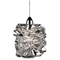 WAC Lighting MP-LED544-SL/CH Eternity Jewelry LED 5 inch Chrome Pendant Ceiling Light in Silver, Canopy Mount MP