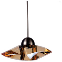 WAC Lighting MP-LED336-GL/BN Eternity Jewelry LED 7 inch Brushed Nickel Pendant Ceiling Light in Gold (Eternity Jewelry), Canopy Mount MP