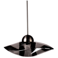 WAC Lighting MP-LED336-SM/BN Eternity Jewelry LED 7 inch Brushed Nickel Pendant Ceiling Light in Smoke Canopy Mount MP