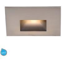 WAC Lighting WL-LED100F-BL-BN Outdoor Lighting 3.9 watt Brushed Nickel Step Light LED 12.62 inch