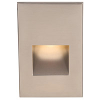WAC Lighting Outdoor Lighting 3.9 watt Brushed Nickel Step Light in 3000K 277 1 LED 51.62 inch