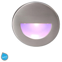 WAC Lighting WL-LED300-BL-BN Outdoor Lighting 3.9 watt Brushed Nickel Step Light LED