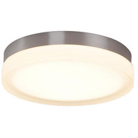 WAC Lighting FM-4109-30-BN Slice LED 9 inch Brushed Nickel Flush Mount Ceiling Light in 3000K