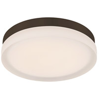WAC Lighting FM-4109-30-BZ Slice LED 9 inch Bronze Flush Mount Ceiling Light in 3000K