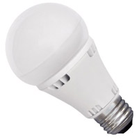 WAC Lighting A19LED-12-30-WT Signature LED A19 Medium 12.00 watt 120V 3000K Light Bulb