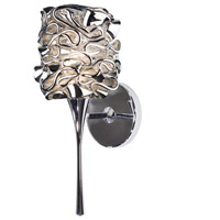 WAC Lighting WS57LED-G544SL/CH Eternity Jewelry LED 4 inch Chrome Wall Sconce Wall Light in Silver