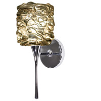 WAC Lighting WS57LED-G544GL/CH Eternity Jewelry LED 4 inch Chrome Wall Sconce Wall Light