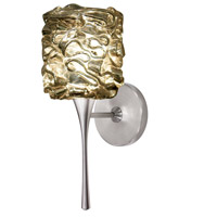 WAC Lighting WS57LED-G544GL/BN Eternity Jewelry LED 4 inch Brushed Nickel Wall Sconce Wall Light in Gold (Eternity Jewelry)